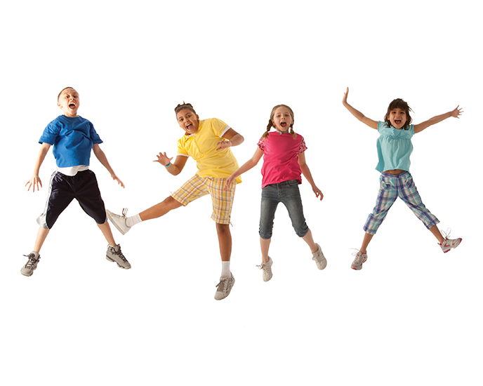 Image of Kids Jumping